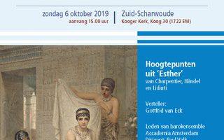6 oktober 2019: Concertvertelling – Zoeken naar Esther